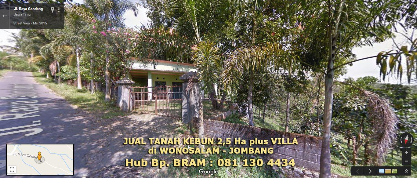 Jual Tanah Kebun di Wonosalam - 0811304434 | jual tanah ...